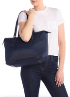 $198 Cole Haan Zerogrand Nylon Leather-Trimmed Tote Bag