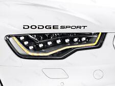 Dodge Sport Sticker for Bonnet RAM Charger Challenger SRT Journey Durango B