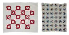Two Hand-Stitched Quilts Lot 184
