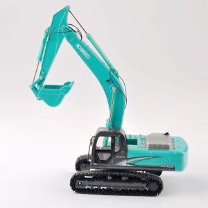 Kobelco 1/50 SK-350 Bulldozer Alloy Diecast Excavator Truck Models Vehicles Toys