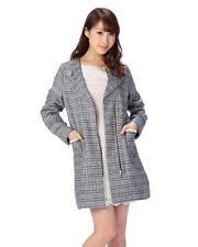 Genuine Jugeetta Tweed Long Jacket Brand New with Tag