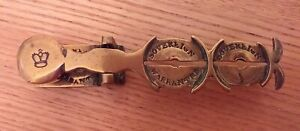 ANTIQUE SOVEREIGN BALANCE BRASS ROCKER SCALES IN NICE CONDITION