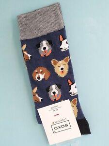 Men's Dog Socks (Pair) Novelty Animal Socks - UK:6.5-10 (EU 40-45)