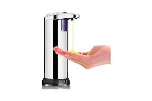 Dispenser Sapone Automatico Infrarossi 250ml Erogatore Sapone Liquido DICTROLUX