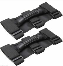 Pair Roll Bar Grab Handle Handles Black (PAIR) for Jeep Wrangler CJ YJ TJ JK