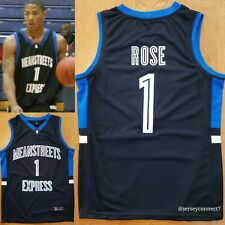 NWOT Men's Derrick Rose AAU Basketball Jersey (S,M,L,XL,2XL)