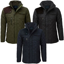 Winter Quilted Coats & Jackets for Men | eBay : quilted winter jackets - Adamdwight.com