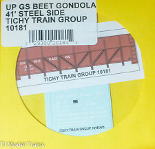Tichy Train Group #10181 Decal for:Union Pacific GS Steel Gondola Sugar Beet Car