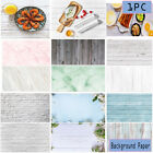 New PVC Photography Wood Printing Backdrops Waterproof Marble Background 58X86cm