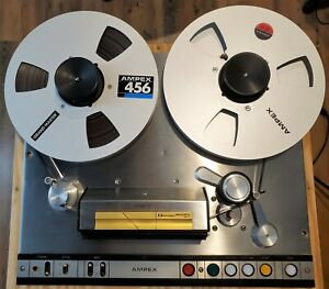 """1975 Ampex AG-440C 4-track Recorder/Reproducer (1/4"""" and 1/2"""" Head Assemblies)"""