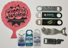 Lot Of 9 Dif. Items Nh Vt Ct Ma Me Fl Micro Craft Beer Ale Brewing Bottle Opener