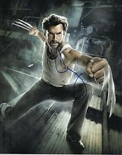 Hugh Jackman Signed 10X8 Photo Logan Wolverine AFTAL COA (7318)