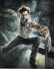 Hugh Jackman Signed 10X8 Photo Logan Wolverine AFTAL COA (7318)