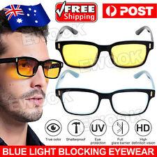 Blue light Blocking Computer Gaming Glasses Anti Glare Anti UV Eyewear Filter