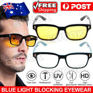 Blue light Blocking Computer Gaming Glasses Anti Glare Anti UV Eyewear Filter