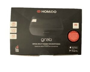 HOMIDO Grab VR Virtual Reality Headset 3D Glass for Android IOS iPhone