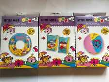 Kids Little Miss Inflatable Swim Ring Arm Bands & Beach Ball Swimming
