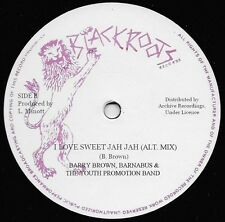 BARRY BROWN - I LOVE SWEET JAH JAH - ON SALE NOW - HEAVYWEIGHT ROOTS!!!!!