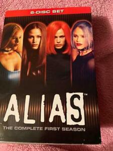 Alias - The Complete Collection (DVD, 2006, 29-Disc Set,w/slipcover)new sealed