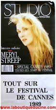 MERYL STREEP Affiche Cinéma 120x60 Movie Poster COUVERTURE STUDIO