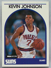 1989-90 Hoops Kevin Johnson Suns Rookie Card Basketball Card lot of 2