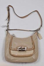 NWT COACH Kristin Spectator Leather Hobo Crossbody Bag #19310 Bisque Multi