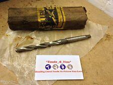 """Edgar Allen 25/64"""" Morse Taper Shank Drill MT1 (v)"""