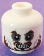 LEGO - Minifig, Head Skull Ragged Brown Beard, Bad Teeth (Hector Barbossa)