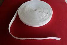 25mm Polypropylene Webbing 5 Metre White