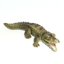 Figurine SCHLEICH Grand Crocodile caiman Animaux sauvages Savane Ex E rare 15 cm