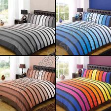 Cotton Blend Pillow Case Striped Bedding Sets & Duvet Covers