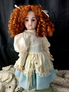 """Reproduction ~ 19"""" FRENCH DOLL w/ BRU JNE 8 HEAD ~ Artist made 1980s"""