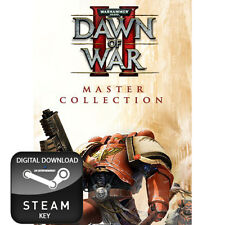 Warhammer 40,000 40000 Dawn of War II 2 Maestro Colección clave de vapor Pc Y Mac