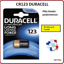 Duracell Cr123a Batería foto litio 3V