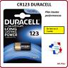 Lots de Piles/Cells boutons Duracell 3V lithium CR123, Spéciale photo