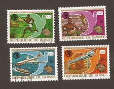 Guinea 1974. Scott 672-675 (used) Full Set, UPU, post