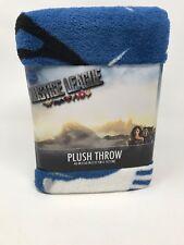 "DC Comics Justice League Plush Throw Blanket, 46""X 60""NEW"