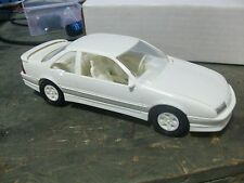 Amt Ertl Blueprinter Promo Car 1990 Beretta GTZ White Chevy Chevrolet