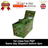 ZIG ZAG green rizla rolling paper - same day dispatch before 3pm - 1st class P+P