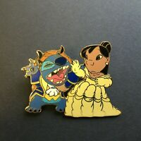 Disney Auctions P.I.N.S. Lilo & Stitch as Belle & Beast LE 1000 Disney Pin 33857