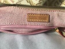 DOONEY AND BURKE MINI BUBBLE BAG YELLOW EUC