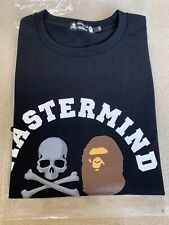 Bape Mastermind Exclusive Black Tee Shirt Size 2XL 100% Authentic BRAND NEW