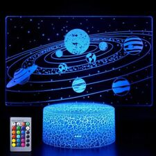Universe 3D Led Night Light Remote Control USB Table Lamp for Kids Toy Xmas GIFT