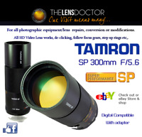 TAMRON SP 300 F/5.6 FULLY REBUILT DIGI OR MICRO4/3DS SUPERB & HIGH PERFORMANCE