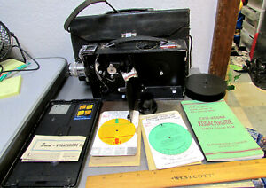 Vintage Cine Kodak model K camera, carrying case, booklets, great collectible