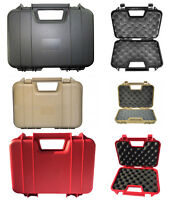 Airsoft Pistol Case Safe And Secure Airsoft Airgun Hard Carrying Case BBS HTUK