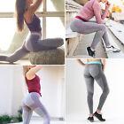 Mujer Yoga Fitness Leggings EJERCICIO GIMNASIO DEPORTE ATLETISMO Pantalones