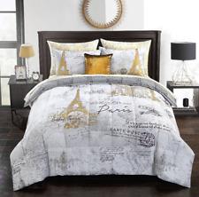 Mainstays Voyager En Paris Bed In A Bag 8-piece Comforter Set, Queen