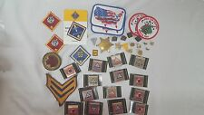 Huge Lot of Boy Scout Merit Badges and Pins