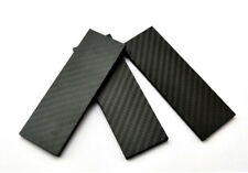 1PC 3K Carbon Fiber Knife Handle Sword Gun Scale Slab Making Supplies Material
